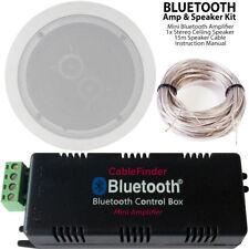 AMPLIFICATORE BLUETOOTH & Dual Coil Stereo Altoparlante da Soffitto Kit – COMPATTA CASA HIFI AMP