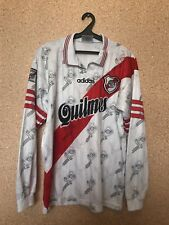 Vintage River Plate 1996/1997/1998 Home FOOTBALL SHIRT JERSEY Adidas