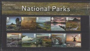 2021  National Parks Presentation Pack 596 - Ref:5601