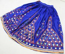 Ethnic Banjara Belly Dance Embroidery Gypsy Tribal Boho India Kuchi Rabari Skirt