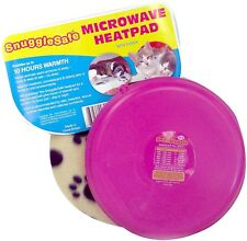 SnuggleSafe Microwave Heat Pad With Fleece Cover