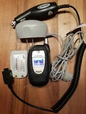 SAMSUNG SGH-E315 HOME CHARGER CAR CHARGER PROTECTIVE CASE EXTRA BATTERY TESTED