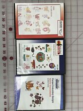 Amazing Designs Oesd and Floriani Machine Embroidery Design Cd's