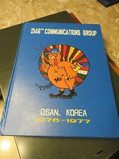 Air Force 2146 Communications Group Osan AB Korea 1976-1977 Yearbook COMM  #BO