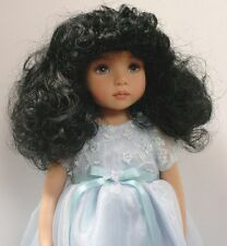 Doll Wig Monique size 7/8 for Little Darling (*Brushed) Modacrylic  *Read Desc