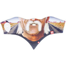 Airhole Standard 1 Mask - Handlebars Mustache Facemask - Winter Snowboard Ski