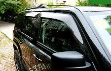 Window Visor Vent Shades Sun Rain Guard 4pcs for Jeep Patriot 2011-2015