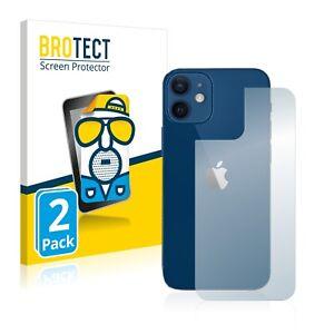 Protector Pantalla Mate para Apple iPhone 12 / 12 Pro (Trasero) Pelicula