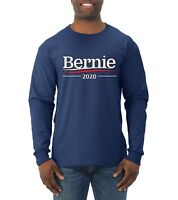 Bernie 2020 Official Campaign Logo Mens Long Sleeve T-Shirt Sanders Tee