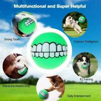 Indestructible Solid Rubber Ball Pet Dog Toy Training Play Toys Chew Bite Q2B0