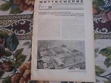 1929 Beilage Bauzeitung 7 / Leipzig Messe / Riesa