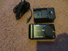Sony DSC-H55 Cyber-shot 14.1 MP Digital Camera great EYE-FI WIRELESS car charger
