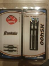 FRANKLIN XS400 18g Tungsten Plated STEEL TIP DARTS ~ NIP FREE SHIPPING