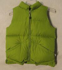 One Kid Green Full Zip Down Vest Childrens XLarge Inv#Z8887