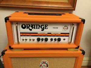 Orange TH100 amp head 100 watt all Valve - 2017