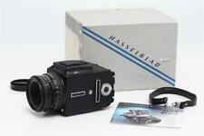 Hasselblad 501 CM Black  w. CB 2.8/80mm Planar T* + Box