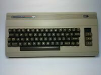 vintage computer commodor 64 ((as is))  I WILL SHIP VIA DHL read