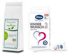 Ritex Kinderwunsch Gleitmittel & Babyzauber Klapperstorchtee Kinderwunschpaket