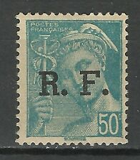 France Type Mercure Guerre Mondiale Liberation World War Krieg ** 1944 Surch Ovp