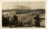 Conowingo Dam MD Hydro Electric Dev 1927 Real Photo Postcard