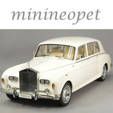 KYOSHO 08905 WO ROLLS ROYCE PHANTOM VI 1/18 DIECAST MODEL CAR WHITE