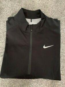 NIKE Golf Storm Fit Waterproof Golf Jacket. Black size Large