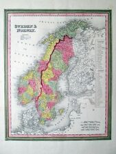 1846 SWEDEN & NORWAY * MITCHELL/TANNER Original