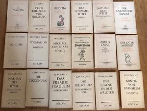 Reclam Hefte Sammlung