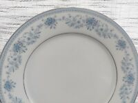 """Noritake Contemporary Fine China BLUE HILL 2482 ~Lot of 4~Dinner Plates 10 1/2"""""""