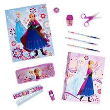 Disney Store Frozen Anna and Elsa Stationery School Supply kit / Pencil Box