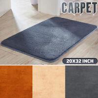 Washable Non Slip Indoor Door Mats Soft Entrance Bedroom Kitchen Floor Carpet a