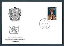 AUSTRIA - 1975 - BUSTA - FDC - EUROPA: DIPINTI