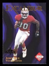 1995 Excalibur - JERRY RICE - S&S GOLD Redemption SP 22K KNIGHT Card #2 SCARCE!