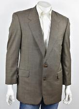 HICKEY FREEMAN Brown Woven LORO PIANA Super 120's TASMANIAN Suit Jacket 43L