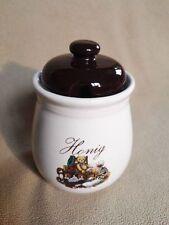 Honig Honigtopf Deckeldose Dose Keramik Honigschale
