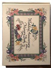 New Our Wedding Anniversary Memory Book, 1997 (Hardback in The Original Box)