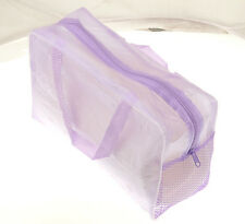 Purple Makeup Cosmetic Toiletry Travel Wash Toothbrush Pouch Bag Organizer Hot