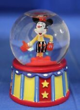 Disney Inspearations Mickey Mouse Let's Party Mini Snowglobe 75th #17840 Clown