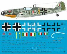 Peddinghaus 1/32 Bf 109 G-14 Markings 2./ANR Diavoli Rossi Mario Bellagambi 3632