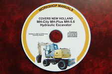 NEW HOLLAND MH-City, MH-Plus, 5.6 EXCAVATOR WORKSHOP, SERVICE & REPAIR MANUAL