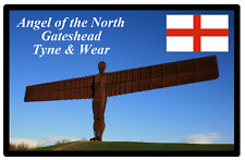 ANGEL OF THE NORTH, UK - Negozio di souvenir novità Magnete del frigorifero -