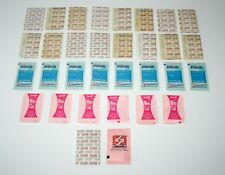 32 Vintage Sugar Packets - Includes Equal, Domino Wee Cal & Sugar - Movie Prop