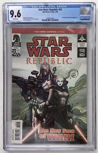 Star Wars: Republic #52 CGC 9.6 1st cover appearance of Asajj Ventress!L@@K!