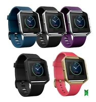 Fitbit Blaze Smart Fitness Watch Small Large Black Plum Blue GunMetal Gold Pink