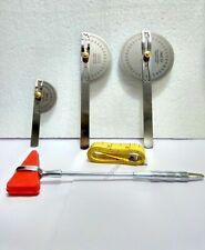 Goniometer Set of 3 Pcs Stainless Steel Hammer Measuring Tape Free Shipping