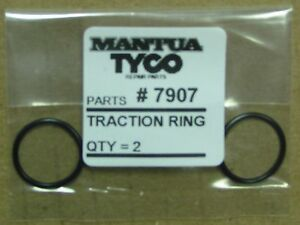 MANTUA & TYCO # 7907 TRACTION RING PAIR FACTORY ORIGINAL PARTS IN HO SCALE