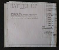 Gottlieb Batter Up Pinball Machine Wiring Diagram Schematic For 1970 Game