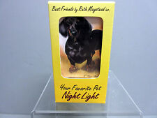 New Black Dachshund Dog Night Light Dachshunds Pet Dogs Ruth Maystead