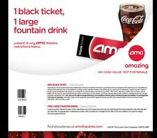 2 AMC Movie Tickets 2 Large Drinks 2 Popcorns