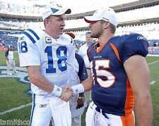 Peyton Manning Tim Tebow NFL Football 8x10 Photo 005